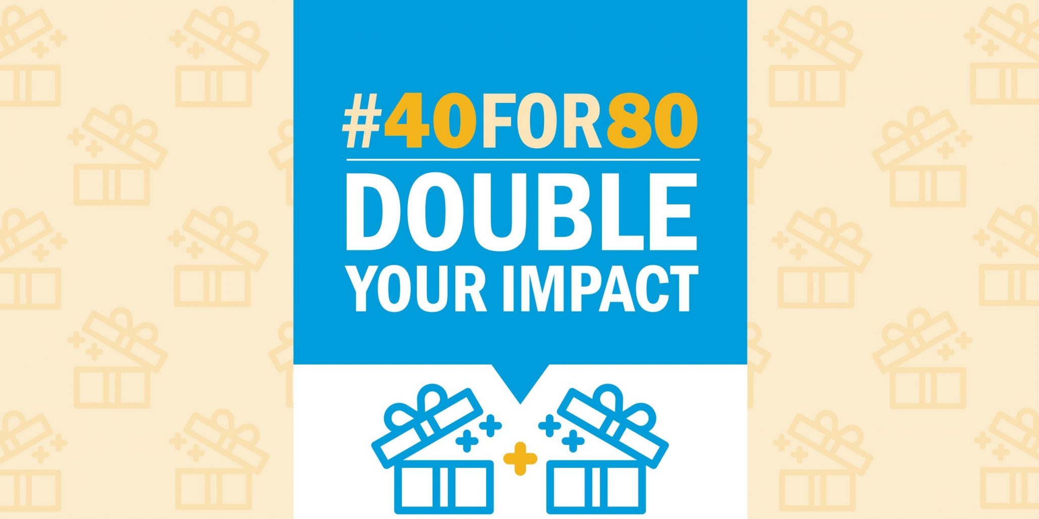 40 for 80 Christmas Giving Campaign