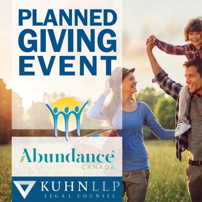 Planned Giving Event 2021